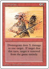 Disintegrate - Revised Edition Artist Proof
