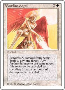 Guardian Angel - Revised Edition Artist Proof