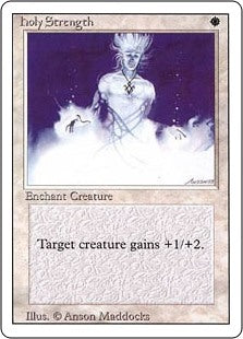 Holy Strength - Revised Edition Artist Proof