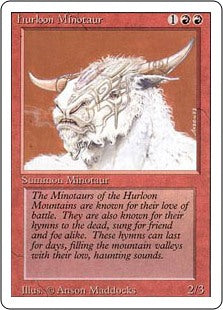 Hurloon Minotaur - Revised Edition Artist Proof