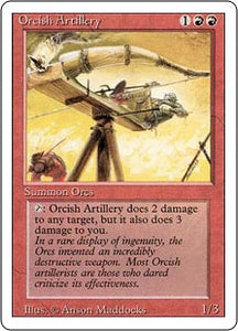 Orcish Artillery - Revised Edition Artist Proof