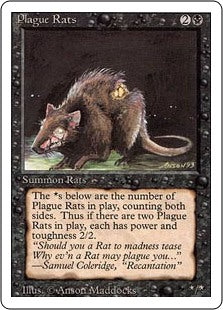 Plague Rats - Revised Edition Artist Proof
