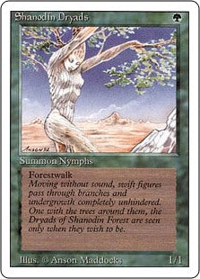Shanodin Dryads - Revised Edition Artist Proof