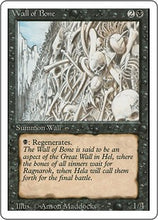 Wall of Bone - Revised Edition Artist Proof