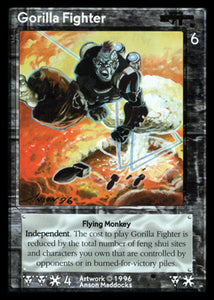 Shadowfist - Gorilla Fighter Original Artwork