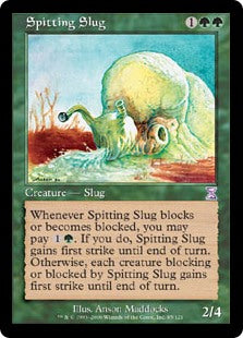 Spitting Slug (Time Spiral/Time Shifted) Artist Proof