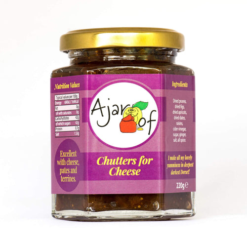 Chutters for Cheese - £3.50