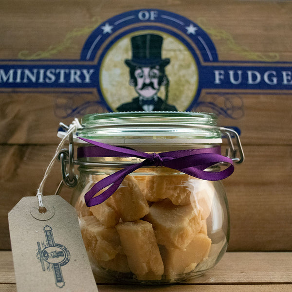 Picture of a Jar of Clotted Cream fudge by Ministry of Fudge