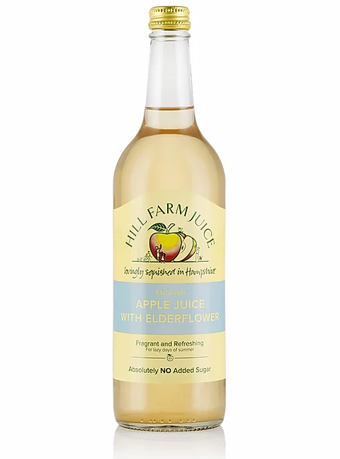 Apple Juice with Elderflower - £3.25