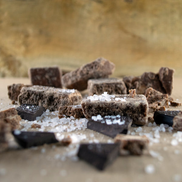 Dark Chocolate & Sea Salt Fudge