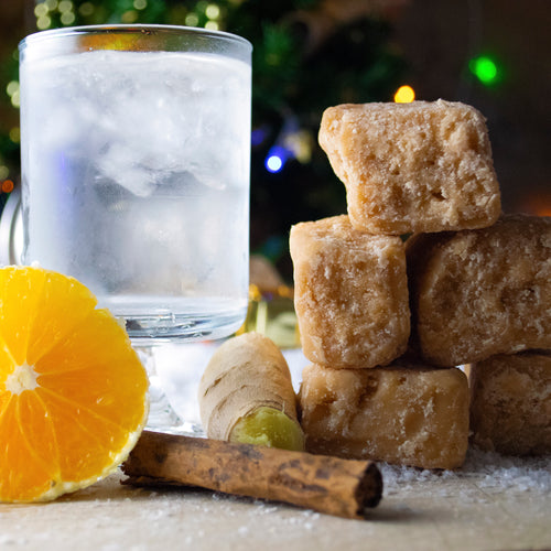 Spiced Orange Gin Fudge