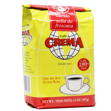 Café Crema Ground Coffee 14 oz.-Café Crema-Café 787