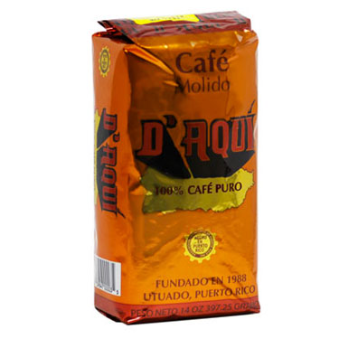 Café D' Aquí Ground Coffee 14 oz.-Café D' Aquí-Café 787
