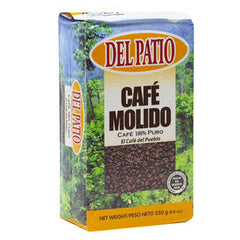 Café Del Patio Ground Coffee 8 oz.-Café Del Patio-Café 787