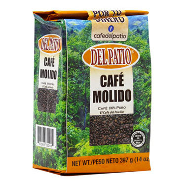 Café Del Patio Ground Coffee 14 oz.-Café Del Patio-Café 787