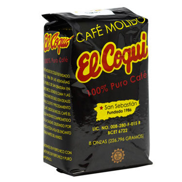 Café El Coquí Ground Coffee 8 oz.-Café El Coquí-Café 787