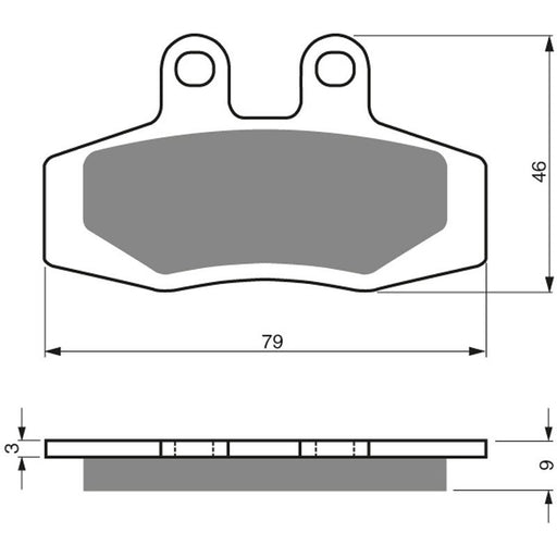 PREMIER BRAKE PADS FULL SINTERED MOTO X