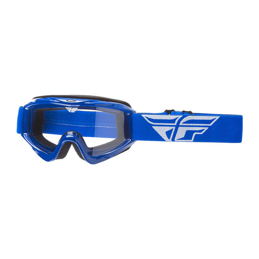 FLY FOCUS GOGGLE - BLUE WITH CLEAR LENS