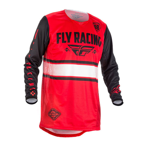 FLY KINETIC ERA JERSEY - RED / BLACK