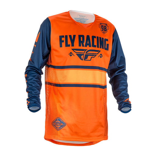 FLY KINETIC ERA JERSEY - ORANGE / NAVY