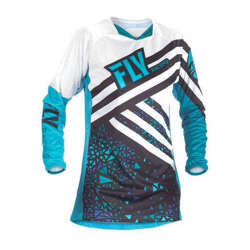 FLY LADIES KINETIC JERSEY - BLUE / BLACK