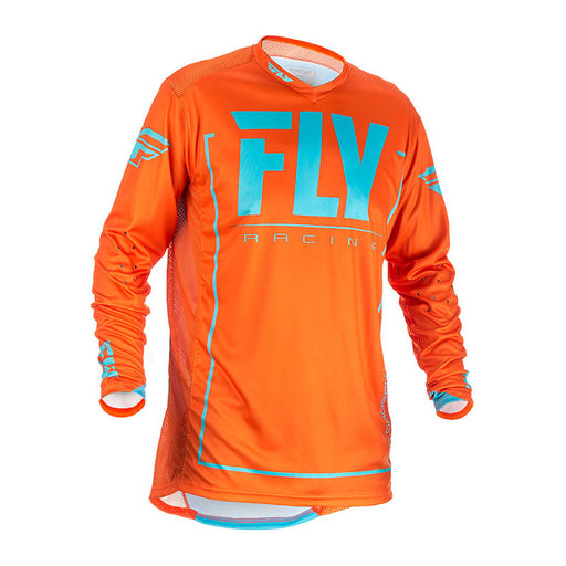FLY LITE HYDROGEN JERSEY - ORANGE / BLUE