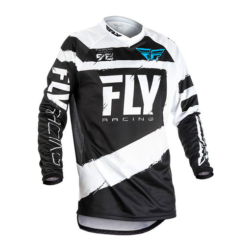 FLY F-16 JERSEY - BLACK / WHITE