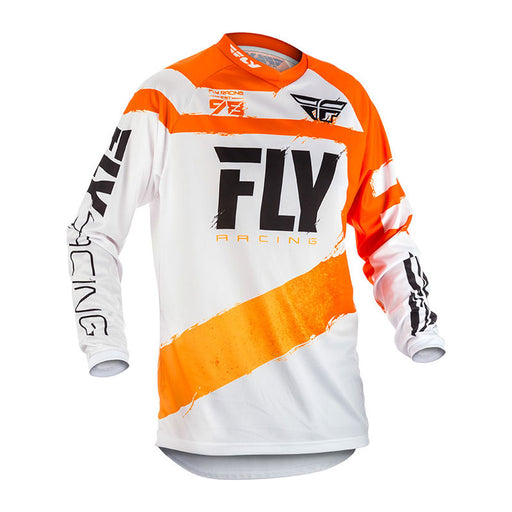 FLY F-16 JERSEY - ORANGE / WHITE