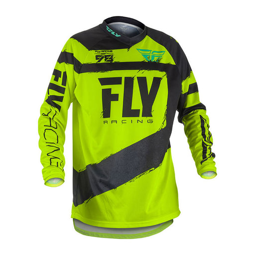FLY F-16 JERSEY - BLACK / HI-VIS