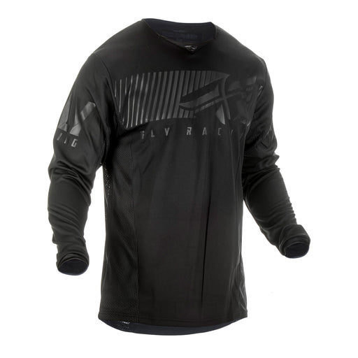 FLY 2019 KINETIC SHIELD JERSEY - BLACK / BLACK