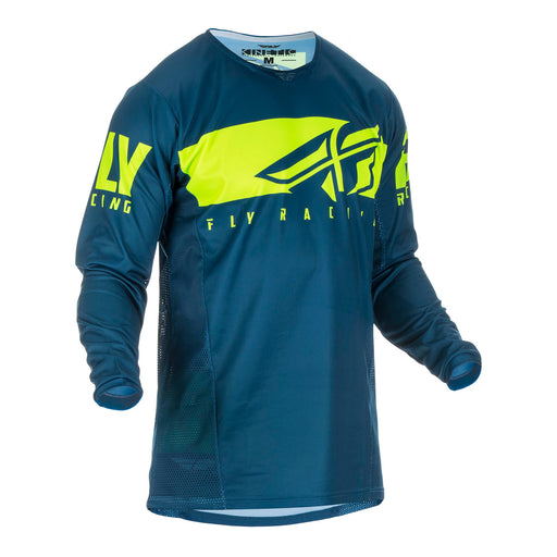 FLY 2019 KINETIC SHIELD JERSEY - NAVY / HI-VIS