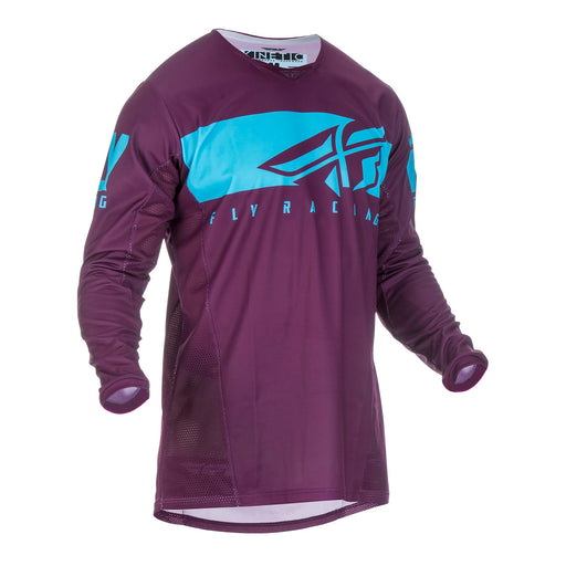 FLY 2019 KINETIC SHIELD JERSEY - PORT / BLUE