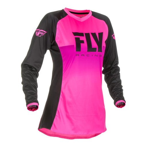 FLY 2019 LADIES LITE HYDROGEN JERSEY - PINK / BLACK