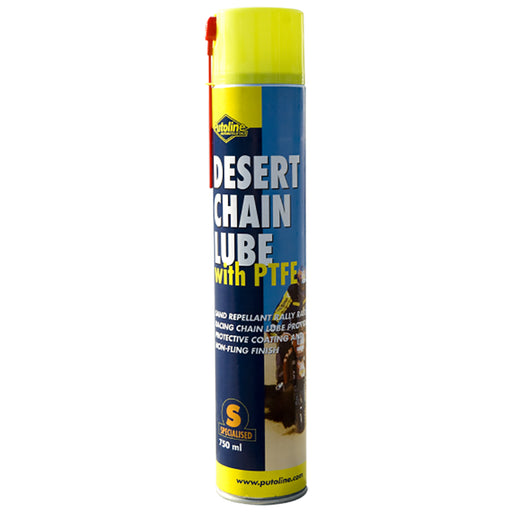 PUTOLINE DESERT PTFE CHAIN LUBE 750ML - OFF ROAD (70601)