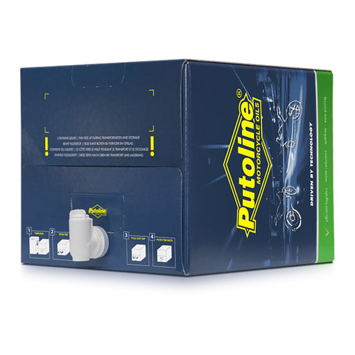 PUTOLINE TM SPORT 4 SEMI 15w50 20LT BAG-IN-BOX (74250)