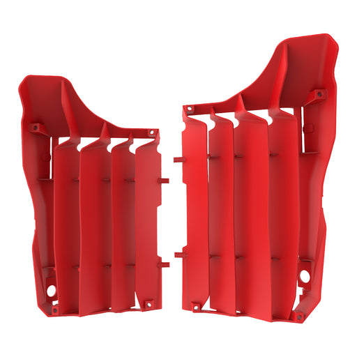 RADIATOR LOUVERS HON CRF250R 18- RED