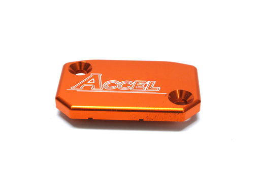 ACCEL M/CYL COVER FNT KTM ORG