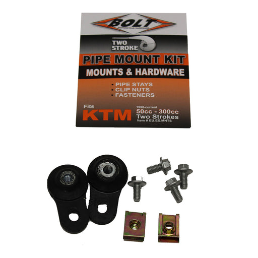 BOLT EXHAUST PACK KTM 2 STROKE MOUNT KIT 50-300CC