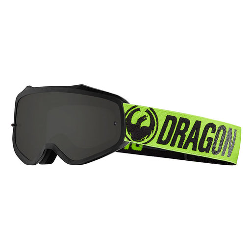 DRAGON MXV GOGGLE - BREAK GREEN WITH JET LUMALENS