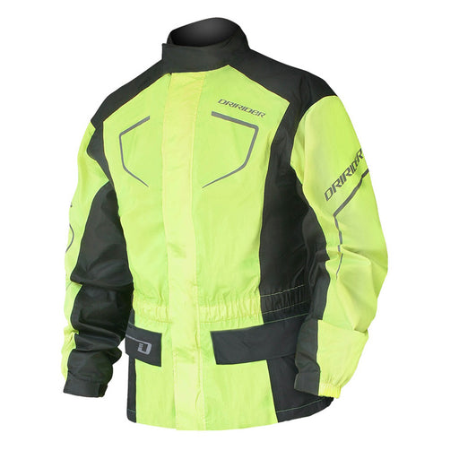 DRIRIDER THUNDERWEAR 2 RAIN JACKET - DAY GLOW YELLOW