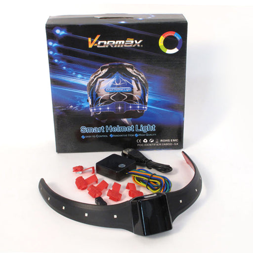 SMART HELMET LED FLASHER & BRAKE LIGHT