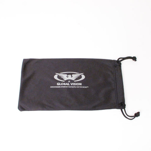 GLOBAL VISION EYEWEAR - POUCH BLK SML