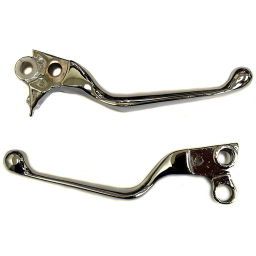 WHITES LEVER SET PAIR HD CHR 96- WIDE BLADE