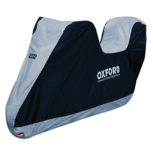 OXFORD AQUATEX M/C COVER MED WITH TOP BOX