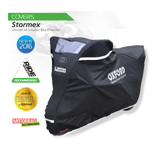 OXFORD STORMEX MOTORCYCLE COVER MED