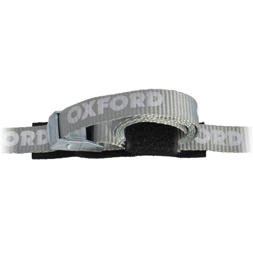 OXFORD CAM BUCKLE LUGGAGE TIE DOWN STRAP PAIR 180CM
