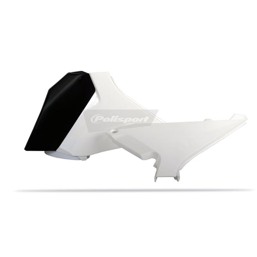AIRBOX COVERS KTM SX 12 WHT