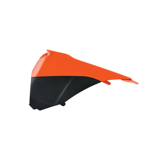 AIRBOX COVER KTM EXC 14-16 ORG/BLK