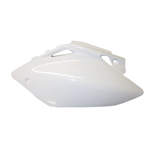SIDE PANEL/AIRBOX COVER 1 PC CRF250R 14-16 /450R 13-16 WHT