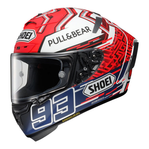 SHOEI X-SPIRIT 3 HELMET - MARQUEZ 5 TC1